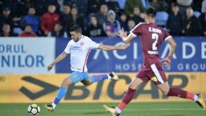 Венелин Филипов и компания не пуснаха гол срещу Стяуа