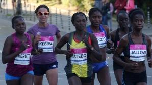 Матебо триумфира в Маратона на София при жените
