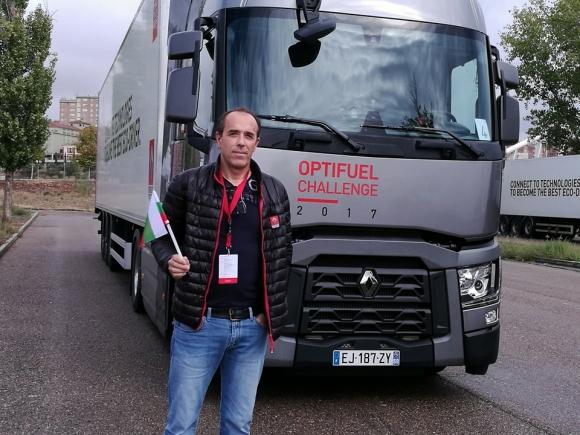 """Българин е """"Най-ефективен шофьор на камион в света"""", победи безапелационно шампиони от 28 държави"""
