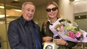 Шарапова пристигна в Москва за Купата на Кремъл