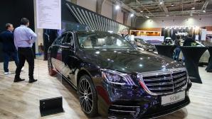 Mercedes показва един от най-скъпите автомобили на автосалона в София