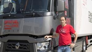 """Плевенчанин атакува титлата на Renault """"Най-ефективен шофьор на камион в света"""""""