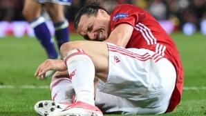 Златан Ибрахимович поднови тренировки с първия отбор на Манчестър Юнайтед