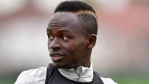 Сенегал вика контузения Мане за мачовете на националния отбор