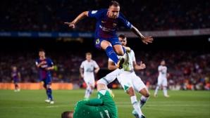 Саутхамптън преговаря за нападател на Барселона