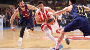 Барселона и Везенков със загуба в Белград