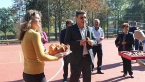 Спортната площадка в с. Наум – официално открита