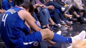 Лоша нощ за европейските баскетболисти в НБА
