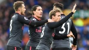 Евертън - Арсенал 1:2, гледайте тук