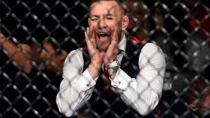 Конър Макгрегър предизвика огромен скандал в UFC (видео)