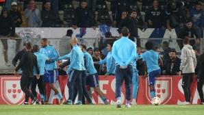 УЕФА също се задейства за ритника на Евра