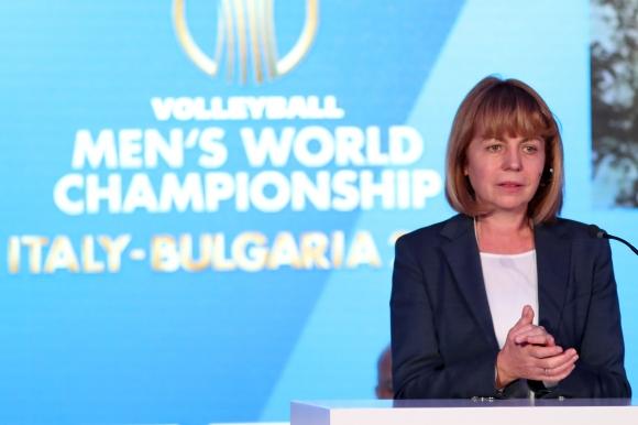 Йорданка Фандъкова: Жителите на София са любители на волейбола (видео)