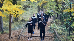 Черно море поднови тренировки с крос на Аладжа манастир
