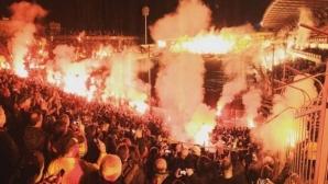 Арис победи Бока при невероятна атмосфера в Солун (видео)
