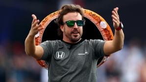 """Алонсо тества болид на Toyota за """"Льо Ман""""?"""