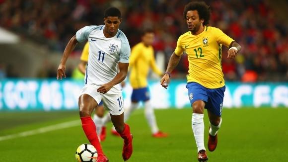 """Англия и Бразилия разочароваха с нулево реми на """"Уембли"""" (видео)"""