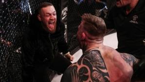 Извадиха Конър Макгрегър от UFC 219