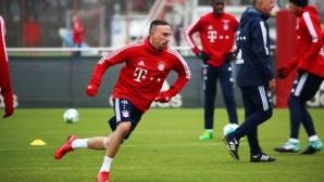 Рибери и Бернат се завръщат в игра за Байерн Мюнхен