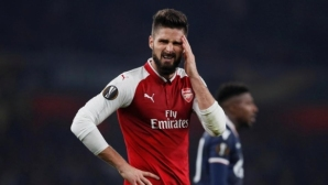 Венгер: Оливие Жиру едва ли ще може да играе срещу Тотнъм