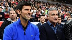 Джокович отново се отдаде на любимия си спорт извън тениса