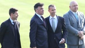 Шефът на УЕФА пристига в България, очаква се да бъдат обявени важни новини