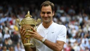 Роджър Федерер вече е номер едно по пари от наградни фондове