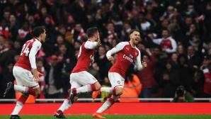 Арсенал - Тотнъм 2:0 (гледайте тук)