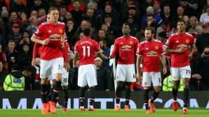 """Юнайтед допусна гол на """"Олд Трафорд"""", но обърна със стил Нюкасъл при завръщането на Погба и Ибра (видео)"""