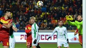 Александров с 8 минути игра при равенство на Арсенал (видео)