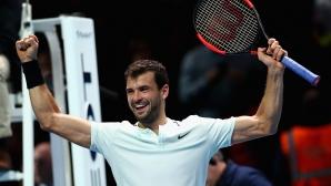 Григор Димитров: Винаги е хубаво да играеш в неделя