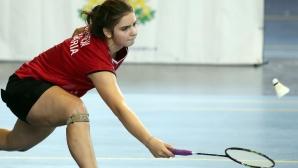 Мария Делчева триумфира на турнир по бадминтон в Чехия