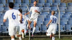 Спартак изпусна два гола преднина в Плевен