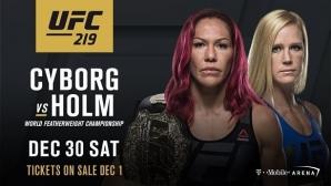Крис Сайборг ще се бие срещу Холи Холм в UFC 219!
