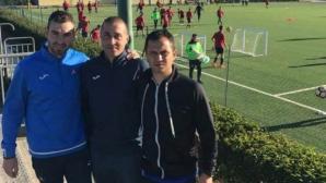 Левски изпрати трима свои треньори от ДЮШ в академията на Каляри