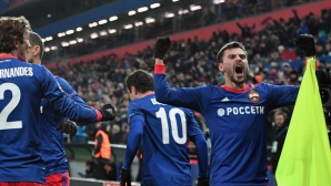 Армейска Москва мечтае за елиминациите на ШЛ (видео)