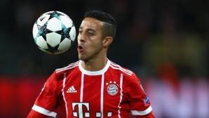 Байерн Мюнхен губи Тиаго за дълго
