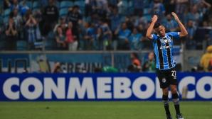 Гремио взе минимален аванс във финала за Копа Либертадорес (видео + галерия)