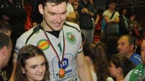 Велизар Чернокожев вече е волейболист на турски гранд Халкбанк