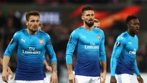 Кьолн излъга Арсенал и остава в играта (видео)