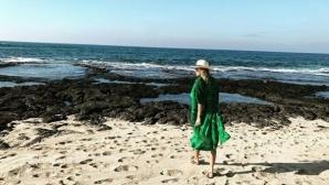 Слънце, сняг, филми - тенисистките си почиват по света (снимки)