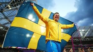 Даниел Щол беше избран за Атлет №1 в Швеция за 2017 г.