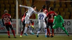 Петър Занев игра цял мач при победата на Амкар над Динамо (видео)