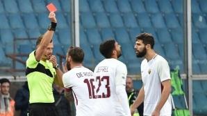 """Суперсерията на Рома приключи, Де Роси провали """"вълците"""" в Генуа (видео)"""