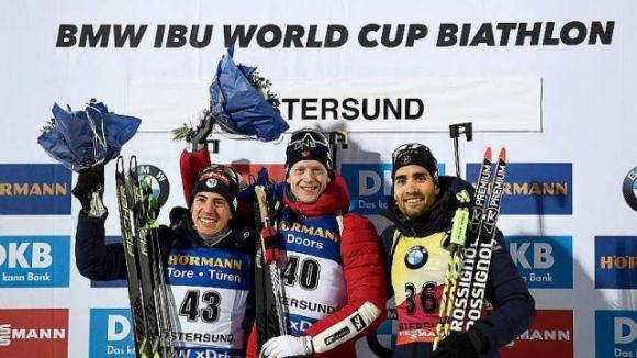 Тарей Бьо спечели спринта в Йостерсунд! Димитър Герджиков остана 59-и (ВИДЕО)