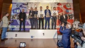 Шампионска церемония в румънската столица