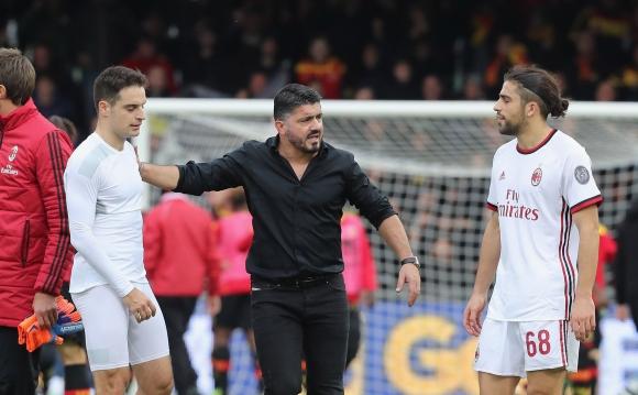 Гатузо извади шестима от групата на Милан