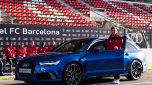 Audi раздаде всичко най-ново и на Барселона (снимки)