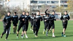 """""""Моряците"""" стартираха подготовка за последния си мач за годината"""