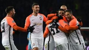 Шахтьор Донецк нанесе първа загуба за сезона на Манчестър Сити (видео)