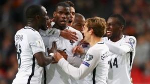 Франция ще играе пет контролни срещи преди Мондиал 2018